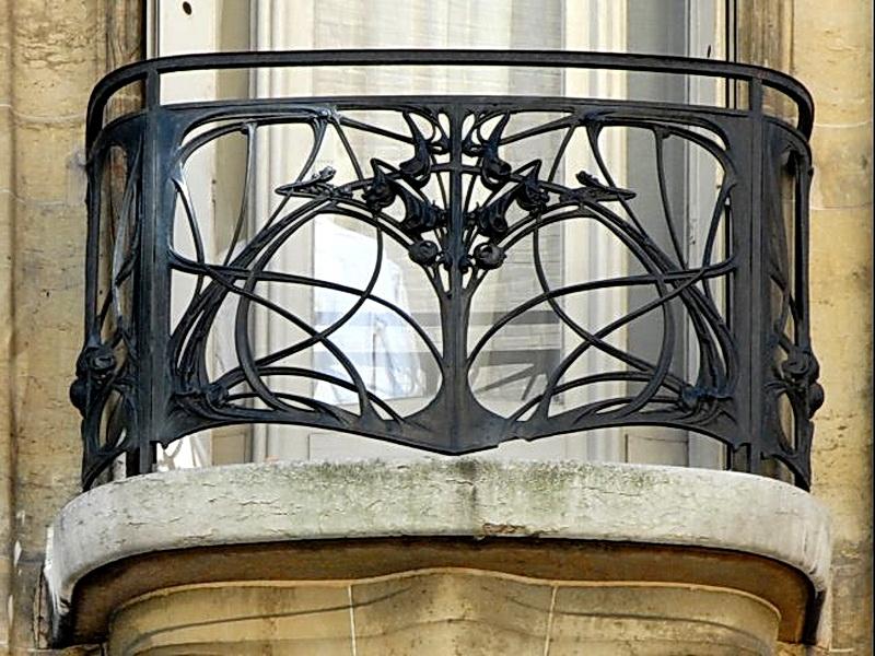 Кованые балконные ограждения N 4106