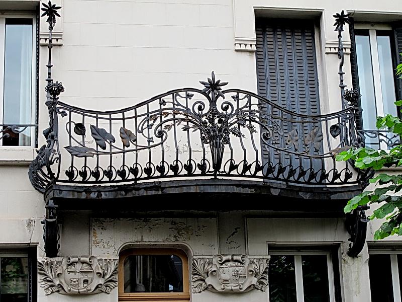 Кованые балконные ограждения N 4108