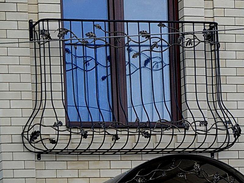Кованые балконные ограждения N 4109