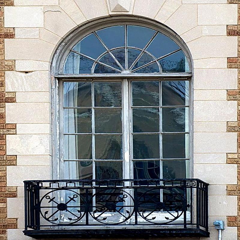 Кованые балконные ограждения N 4112