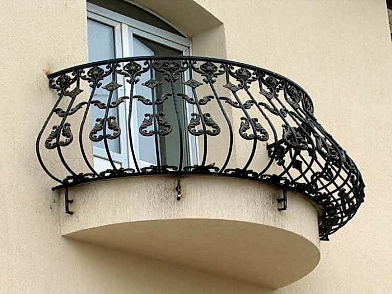 Кованые балконные ограждения N 4113