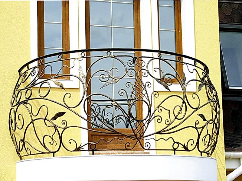 Кованые балконные ограждения N 4114