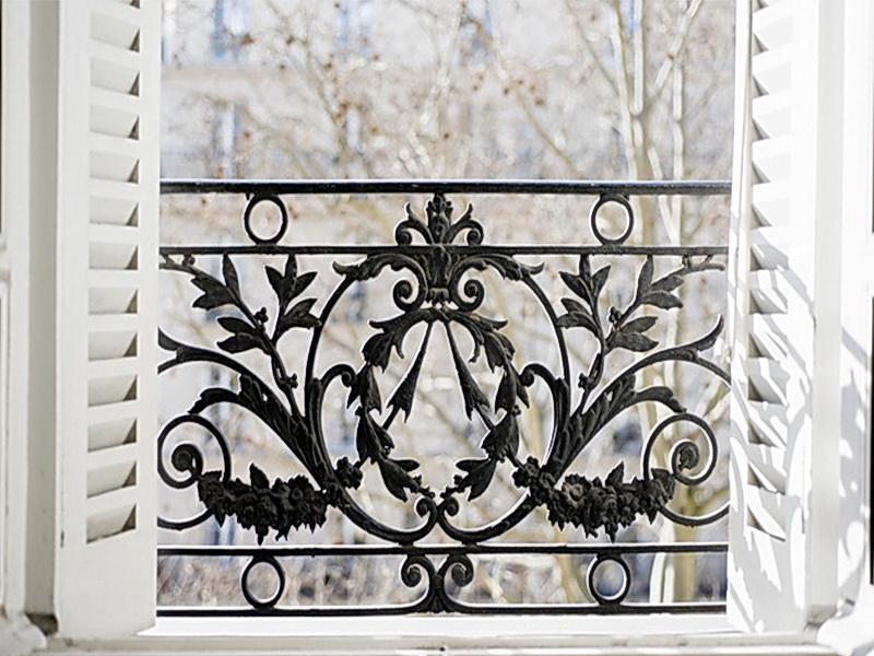 Кованые балконные ограждения N 4115