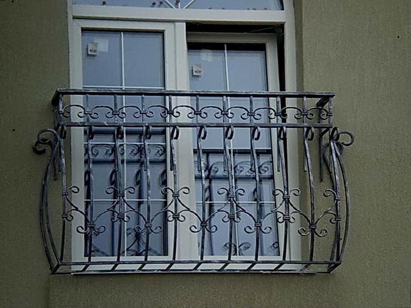 Кованые балконные ограждения N 4118