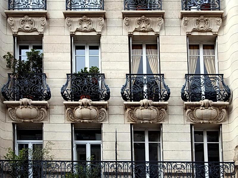 Кованые балконные ограждения N 4120