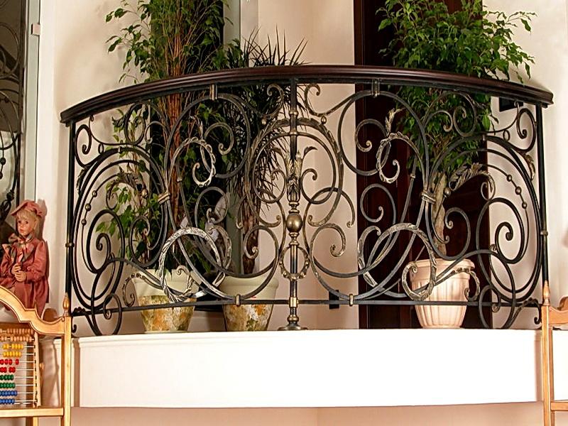Кованые балконные ограждения N 4121
