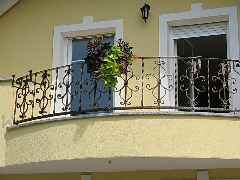 Кованые балконные ограждения N 4122