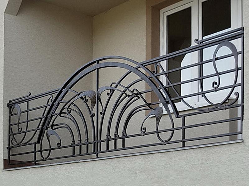 Кованые балконные ограждения N 4123