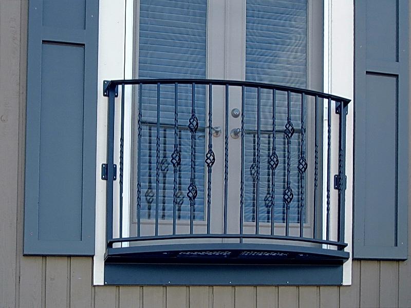 Кованые балконные ограждения N 4125