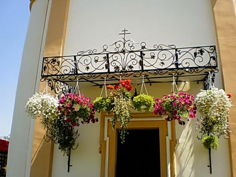 Кованые балконные ограждения N 4126