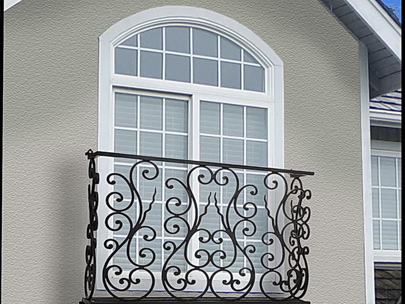Кованые балконные ограждения N 4127