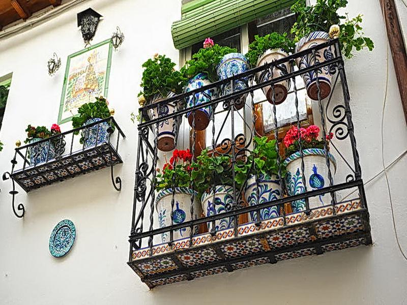 Кованые балконные ограждения N 4130