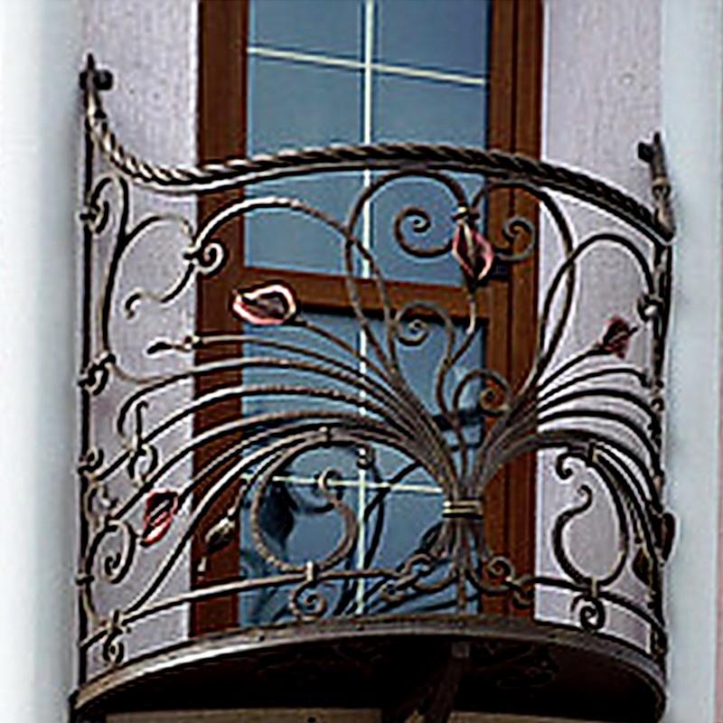 Кованые балконные ограждения N 4131