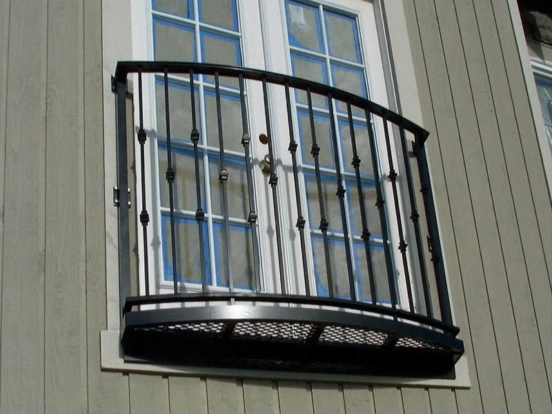 Кованые балконные ограждения N 4133