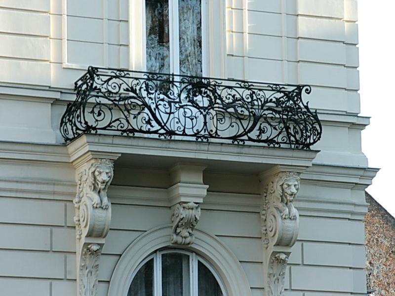 Кованые балконные ограждения N 4134