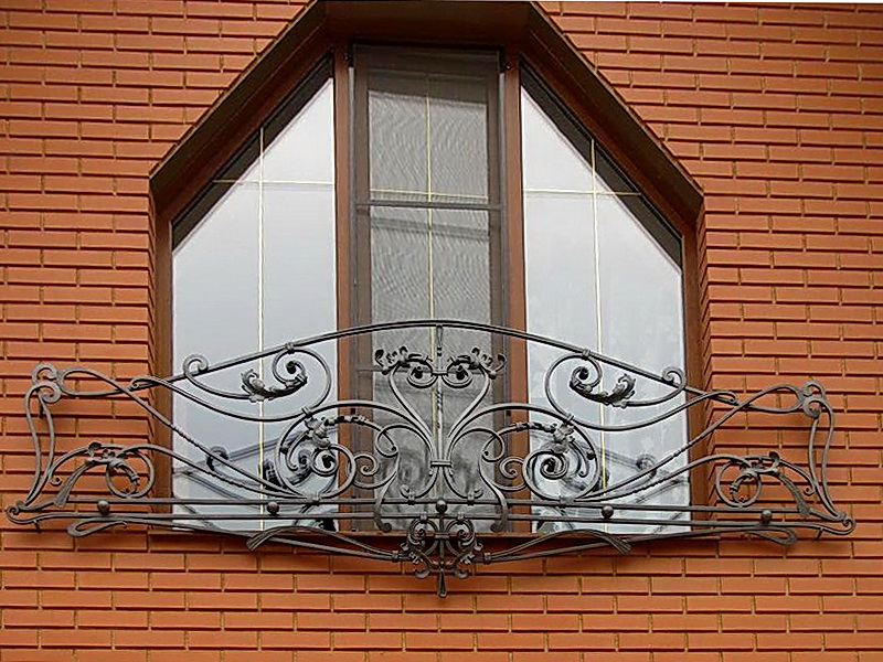 Кованые балконные ограждения N 4140