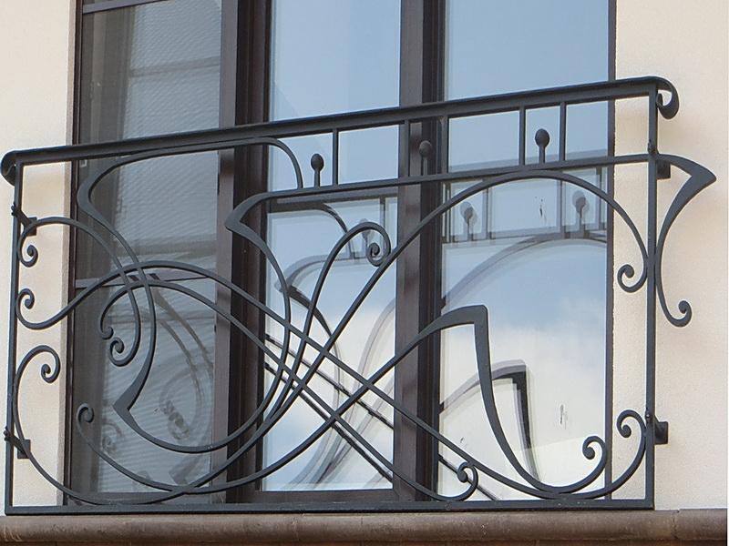 Кованые балконные ограждения N 4141