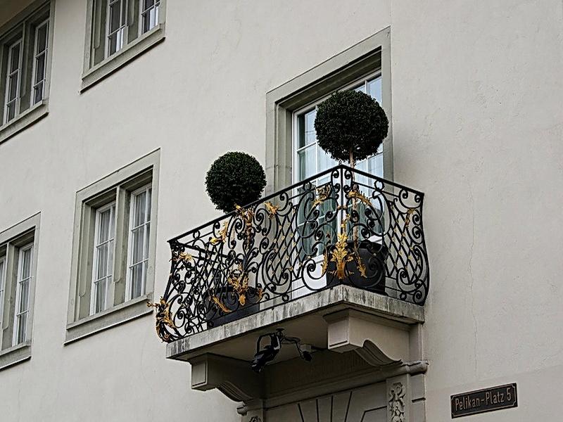 Кованые балконные ограждения N 4144