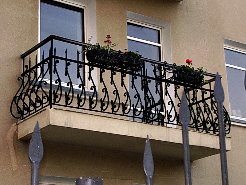 Кованые балконные ограждения N 4146