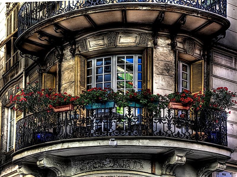 Кованые балконные ограждения N 4147