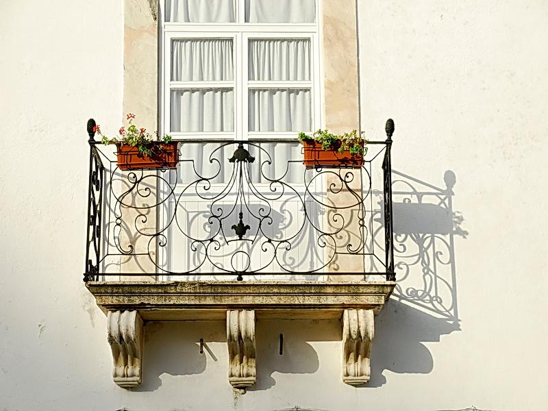 Кованые балконные ограждения N 4149