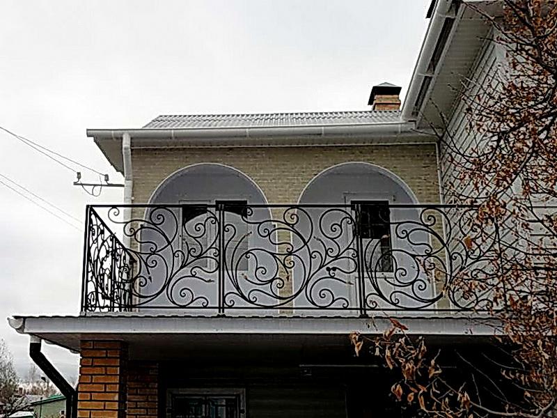 Кованые балконные ограждения N 4150