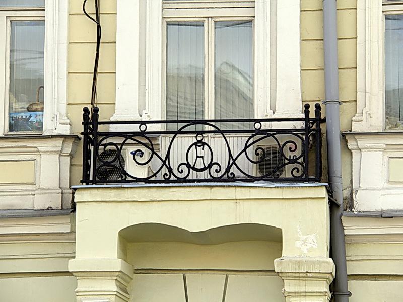Кованые балконные ограждения N 4151