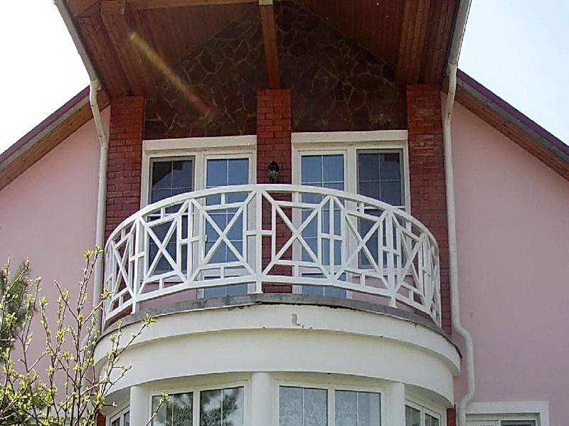 Кованые балконные ограждения N 4152