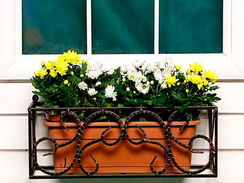 Кованые цветочницы N 12060