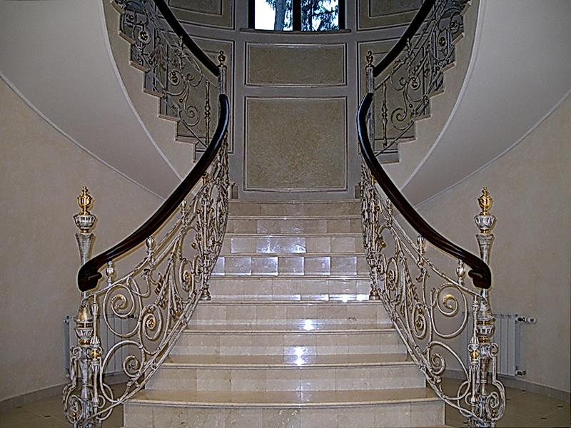 Кованые винтовые лестницы N 3-3546