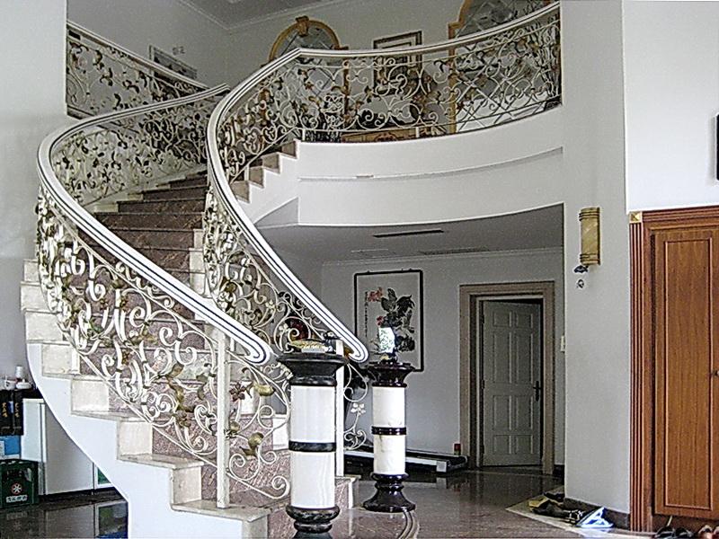 Кованые винтовые лестницы N 3-3547
