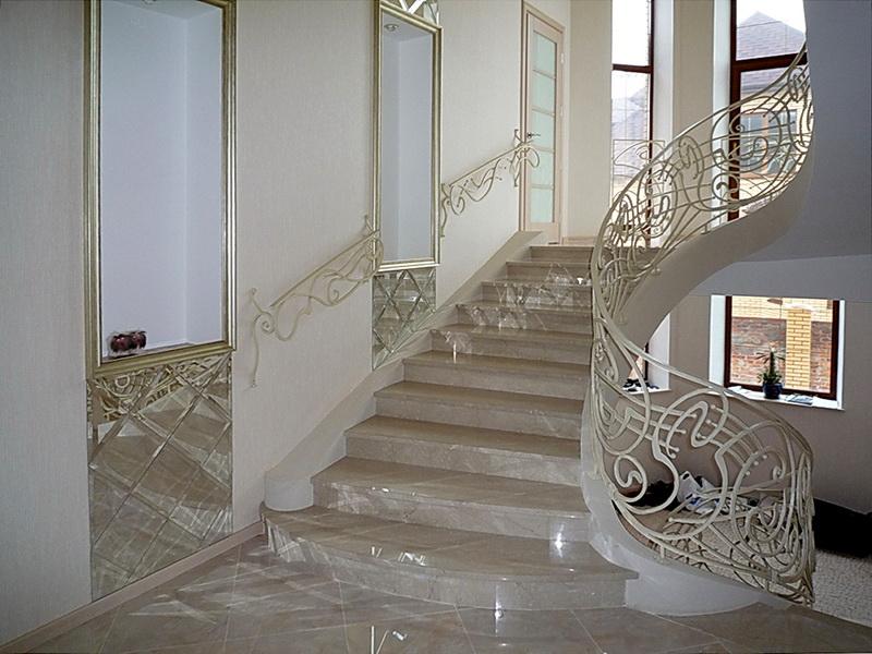 Кованые винтовые лестницы N 3-3549