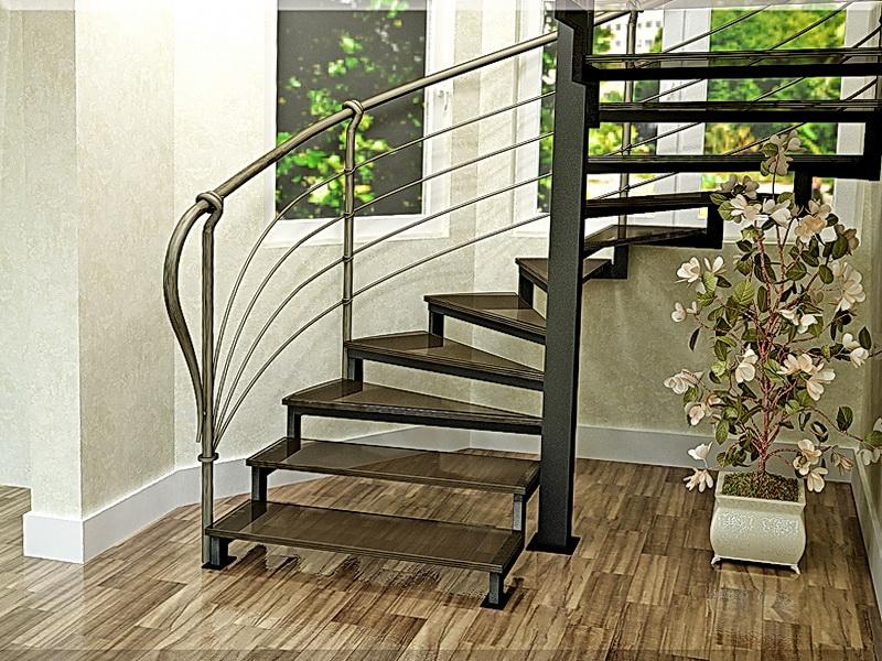 Кованые винтовые лестницы N 3-3551