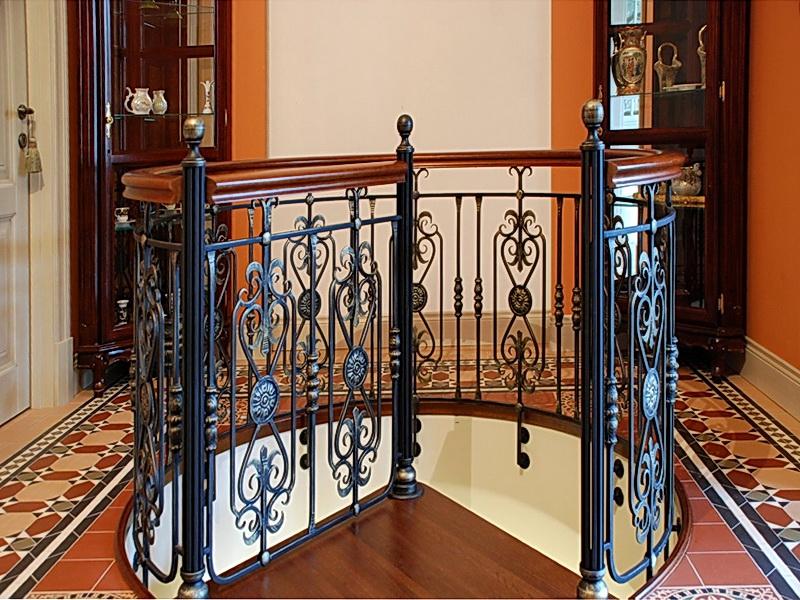 Кованые винтовые лестницы N 3-3552