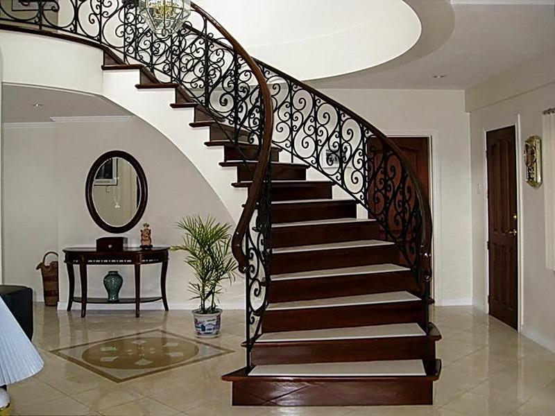 Кованые винтовые лестницы N 3-3553