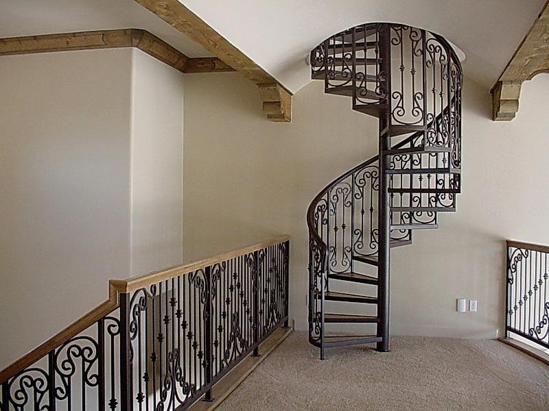 Кованые винтовые лестницы N 3-3555