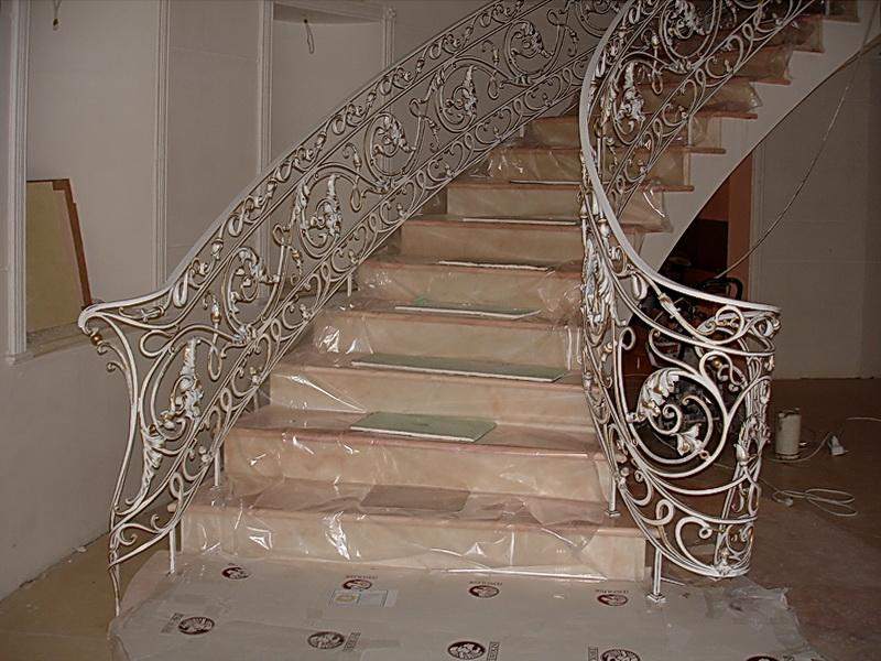 Кованые винтовые лестницы N 3-3556