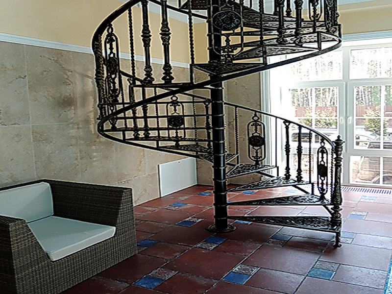 Кованые винтовые лестницы N 3-3559