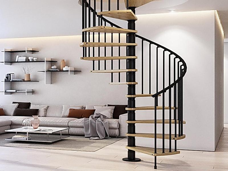 Кованые винтовые лестницы N 3-3563