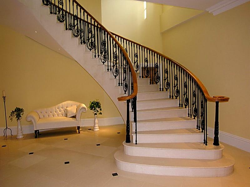 Кованые винтовые лестницы N 3-3564