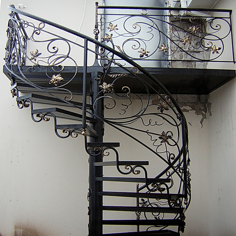 Кованые винтовые лестницы N 3-3565