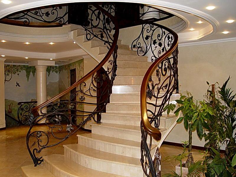 Кованые винтовые лестницы N 3-3567