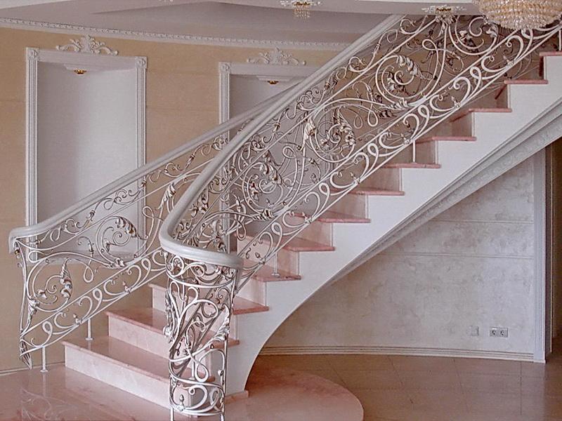 Кованые винтовые лестницы N 3-3568