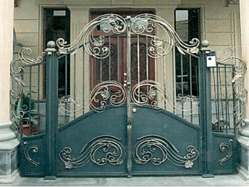 Кованые ворота N 1003