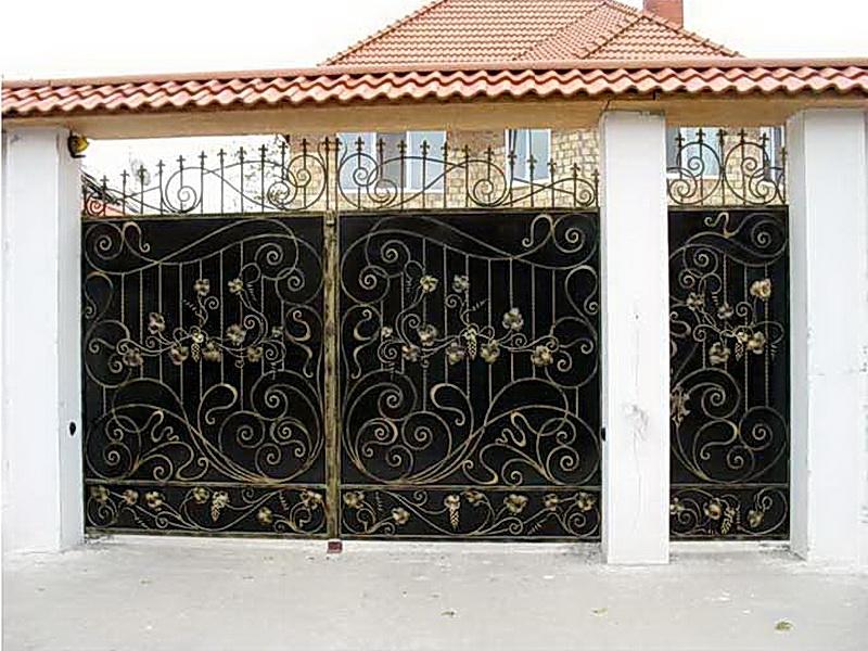 Кованые ворота N 1004