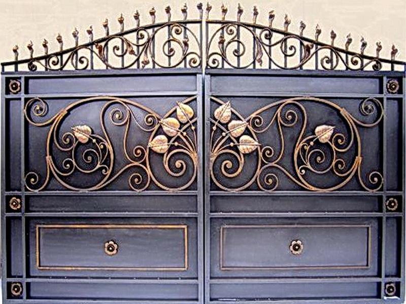 Кованые ворота N 1007