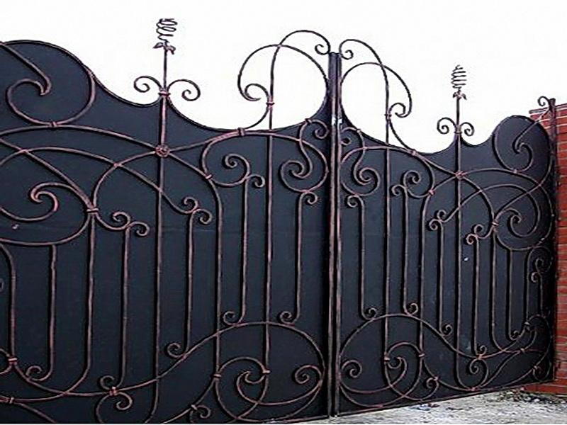 Кованые ворота N 1009