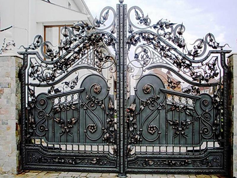 Кованые ворота N 1010