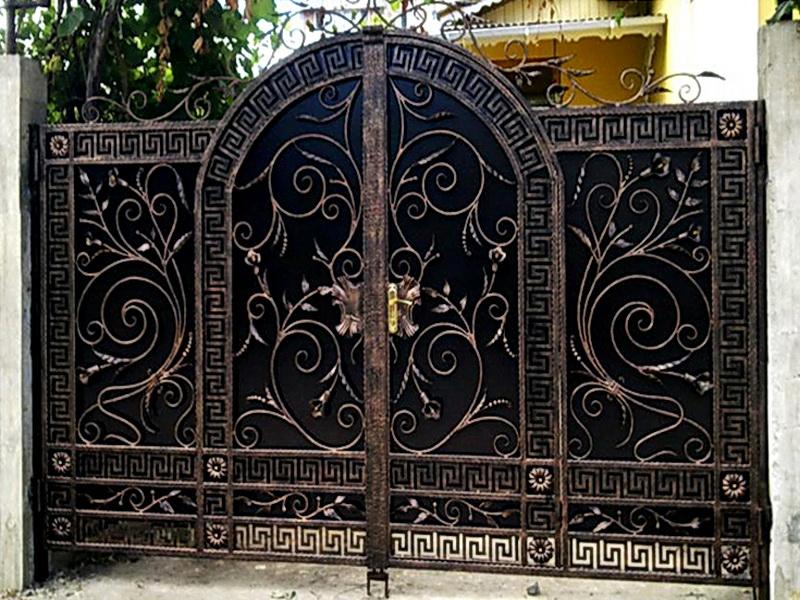 Кованые ворота N 1011