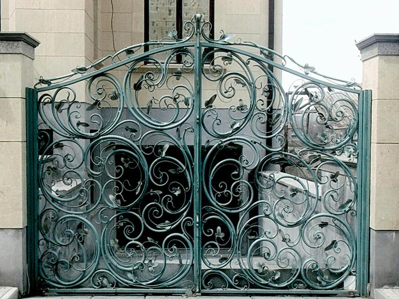 Кованые ворота N 1012